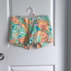 "Lilly Pulitzer 3"" shorts"